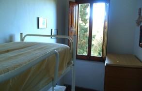 Camera da letto dell'appartamento Hibiscus