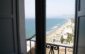 Veduta dalla finestra dell'appartamento Stella del Mare