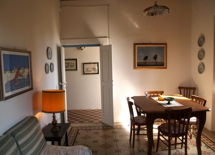 Salone dell'appartamento Lantana